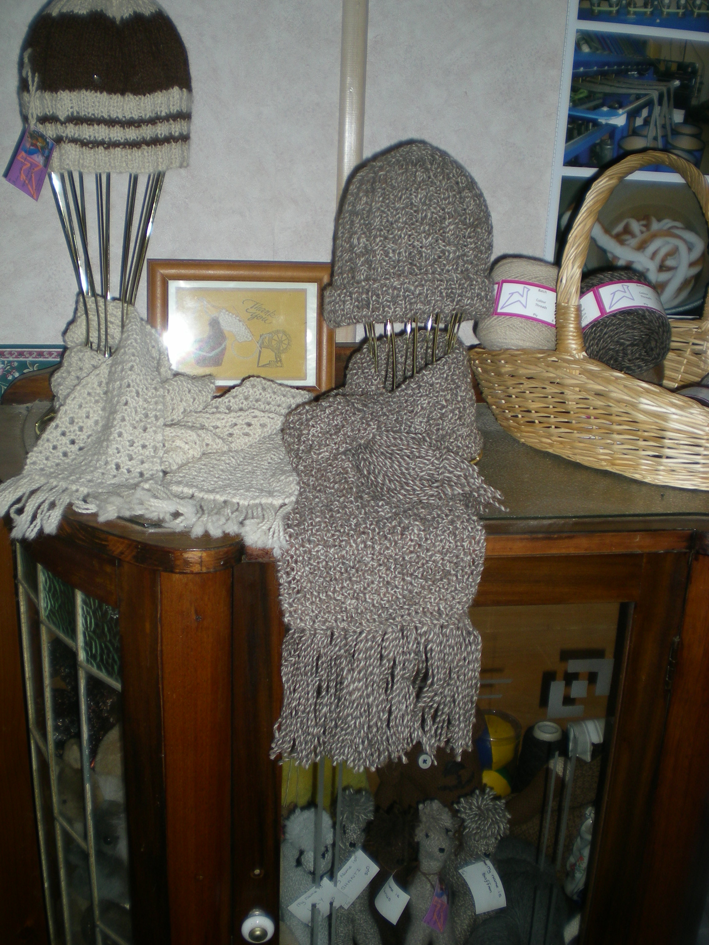 alpaca scarves and beanies